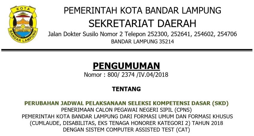 Portal Berita Resmi Pemerintahan Kota Bandar Lampung